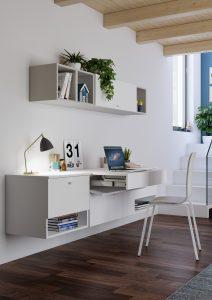 Soluzioni salvaspazio per un home office sorprendente