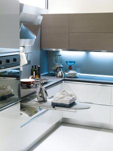 Mobile lavanderia in cucina