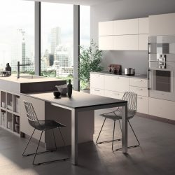 Voilà Chair Expandable Table On The Kitchen Island Atim